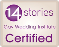 14 Stories Gay Wedding Certified