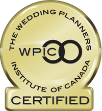 Wedding Planners Institute of Canada Certified